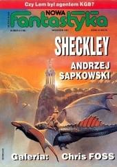 Okładka książki Nowa Fantastyka 108 (9/1991) Andrzej Sapkowski,Robert Sheckley,Ondřej Neff,Pat Murphy,Redakcja miesięcznika Fantastyka