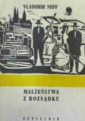 Okładka książki Małżeństwa z rozsądku Vladimír Neff