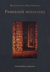 Okładka książki Pamiętnik mistyczny Małgorzata Baranowska