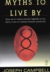Okładka książki Myths to Live By Joseph Campbell