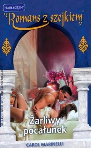 Okładka książki Żarliwy pocałunek Carol Marinelli