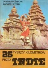 Okładka książki 25 tysięcy kilometrów przez Indie