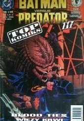 Okładka książki Batman versus Predator III: Więzy Krwi