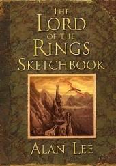 Okładka książki Lord of the Rings Sketchbook Alan Lee