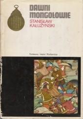 Okładka książki Dawni Mongołowie Stanisław Kałużyński