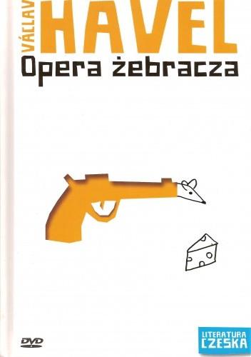 Okładka książki Opera żebracza Václav Havel