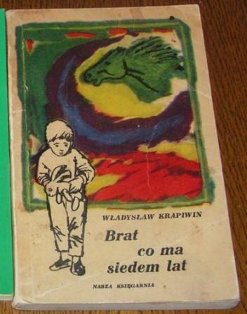 Okładka książki Brat, co ma siedem lat Władysław Krapiwin