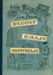 Okładka książki Rzeczy, kraje, obyczaje Leon Przemski