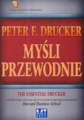 Okładka książki Myśli przewodnie Peter F. Drucker