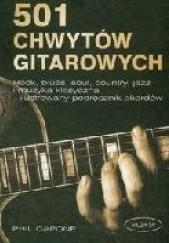 Okładka książki 501 Chwytów gitarowych Phil Capone