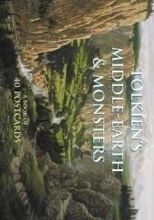 Okładka książki Tolkiens Middle-Earth & Monsters: A Book of 40 Postcards John Howe,Alan Lee,Ted Nasmith,Roger Garland