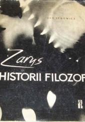 Okładka książki Zarys historii filozofii : elementy doksografii Jan Legowicz