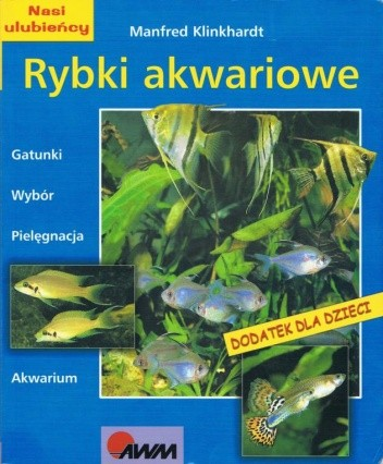 Okładka książki Rybki akwariowe Manfred Klinkhardt