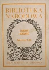 Okładka książki Sam wśród ludzi Stanisław Brzozowski