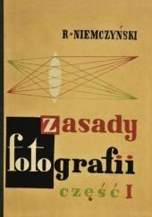 Okładka książki Zasady fotografii część I Roman Niemczyński