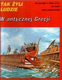 Okładka książki W antycznej Grecji Pierre Miquel