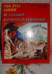 Okładka książki W czasach pierwszych cywilizacji