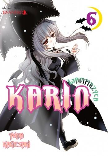 Okładka książki Wampirzyca Karin #6 Yuna Kagesaki