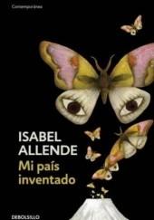 Okładka książki Mi pais inventado Isabel Allende