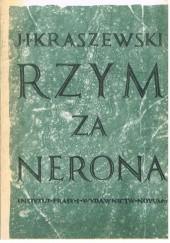 Okładka książki Rzym za Nerona Józef Ignacy Kraszewski