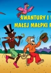 Okładka książki Awantury i wybryki małej małpki Fiki-Miki Kornel Makuszyński,Marian Walentynowicz