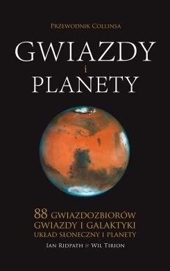 Okładka książki Gwiazdy i planety. Przewodnik Collinsa Ian Ridpath,Wil Tirion