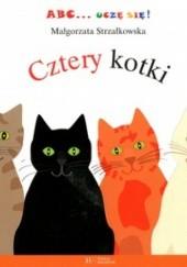 Okładka książki Cztery kotki
