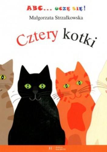 Okładka książki Cztery kotki Małgorzata Strzałkowska