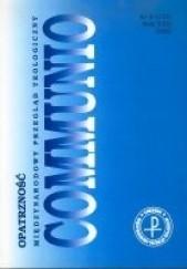 Okładka książki Communio 6/2002 - Opatrzność