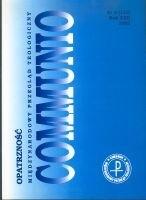 Okładka książki Communio 6/2002 - Opatrzność praca zbiorowa