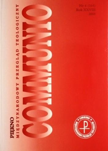 Okładka książki Communio 4/2008 - Piękno praca zbiorowa