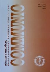 Okładka książki Communio 2/2006 - Bóg jest Miłością