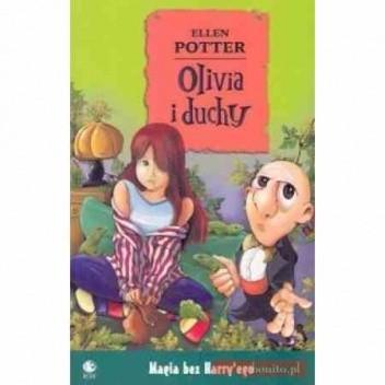 Okładka książki Olivia i duchy Ellen Potter