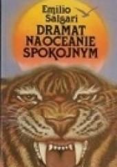 Okładka książki Dramat na Oceanie Spokojnym Emilio Salgari