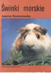 Okładka książki Świnki morskie Joanna Komorowska