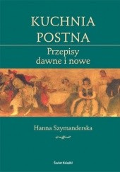 Okładka książki Kuchnia postna Hanna Szymanderska