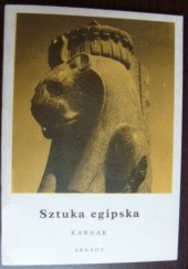 Okładka książki Sztuka egipska. Karnak