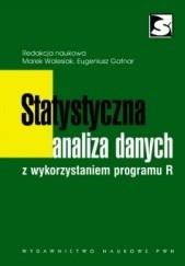 Okładka książki Statystyczna analiza danych z wykorzystaniem programu R Marek Walesiak,Eugeniusz Gatnar