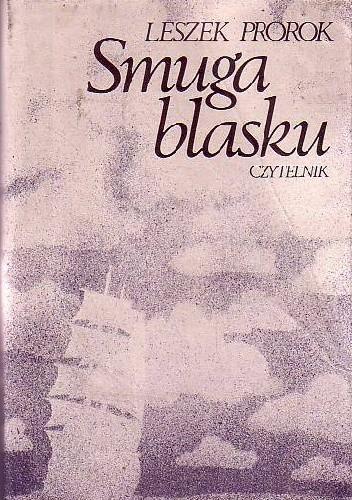 Okładka książki Smuga blasku Leszek Prorok