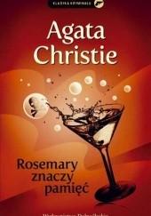 Okładka książki Rosemary znaczy pamięć Agatha Christie