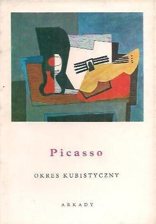 Okładka książki Picasso. Okres kubistyczny Wiesława Wierzchowska