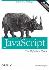 Okładka książki JavaScript: The Definitive Guide David Flanagan