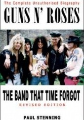 Okładka książki The Band That Time Forgot Paul Stenning