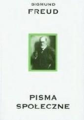 Okładka książki Pisma społeczne Sigmund Freud