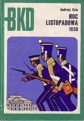 Okładka książki Noc Listopadowa 1830 Andrzej Syta
