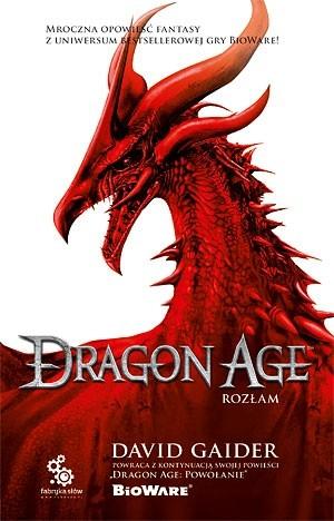 Okładka książki Dragon Age. Rozłam David Gaider