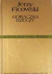 Okładka książki Gorączka rzeczy Jerzy Ficowski