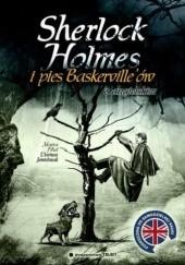 Okładka książki Sherlock Holmes i Pies Baskerville'ów... z angielskim Dariusz Jemielniak,Marta Fihel