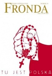 Okładka książki Fronda nr 39 lato 2006. Tu jest Polska Redakcja kwartalnika Fronda