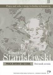 Okładka książki Praca aktora nad sobą Konstantin Stanisławski